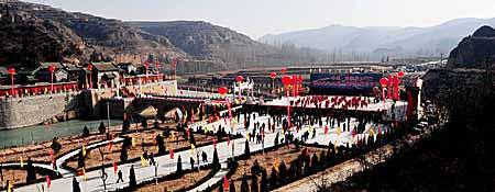 中国尧帝陵修缮竣工 今昔大变样(图) - 风 - 风
