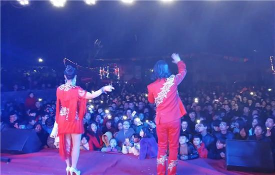 喜哥喜妹夫妻组合参加《星光大道》2015年度周赛.