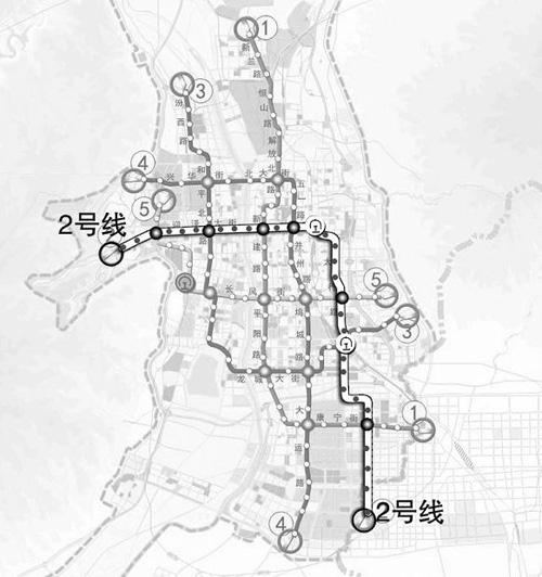 山西太原 地铁2号线一期工程 今年将开工