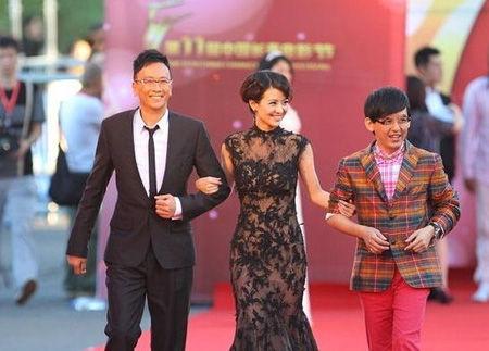 涂经纬_第十一届中国长春电影节主持人涂经纬,郑丹瑞,黄子佼